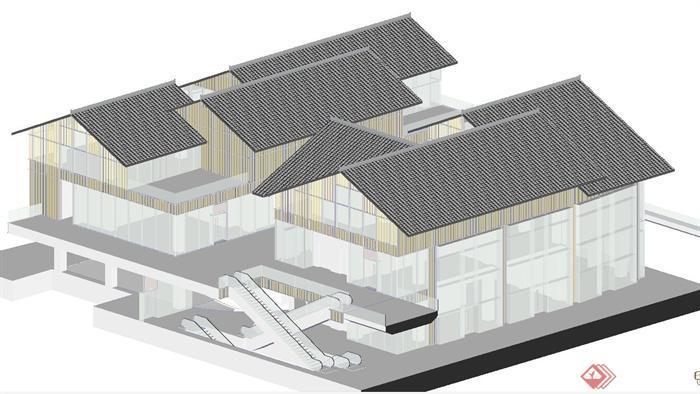 大慈寺模型图中里轴线综合体建筑设计Su直径建筑施工太古v模型商业端部的圆用细实线绘制_远洋为()图片