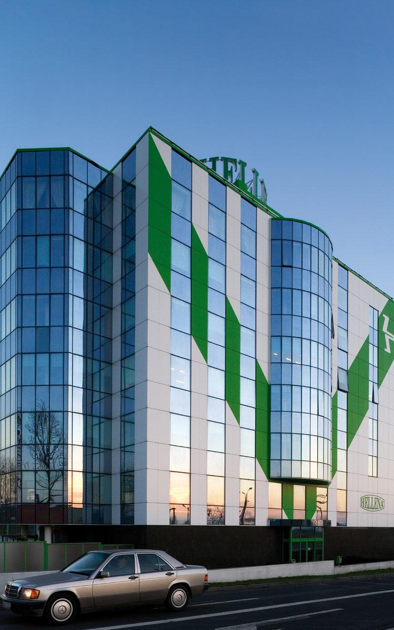 波兰 Hellena 总部——SGG ANTELIO 系列产品