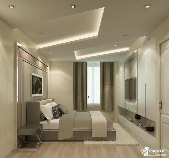Gyproc石膏板——卧室空间