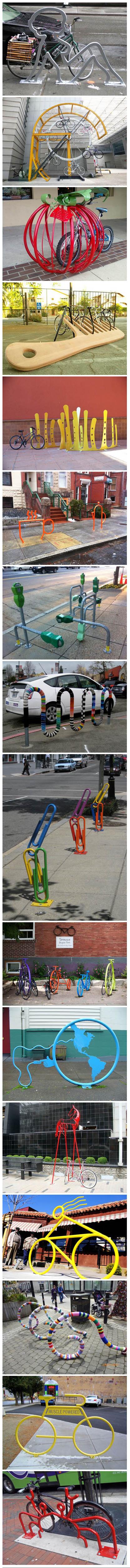 自行车雕塑 - everything