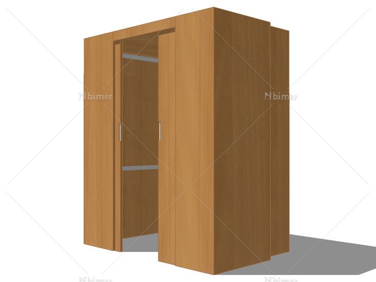 更衣室衣柜-4