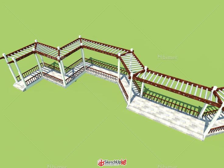 连廊式外面设计图