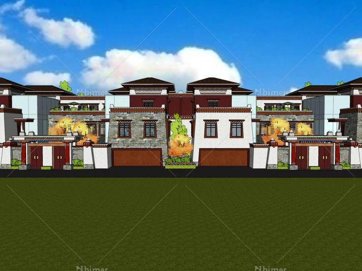 民居,藏式风格,2层图片