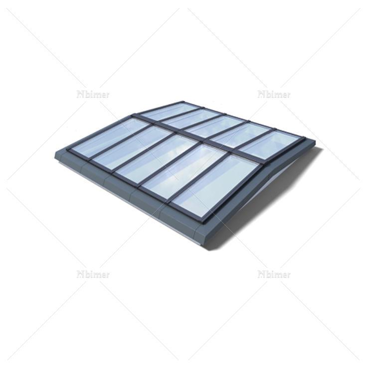 Ridgelight 5°/ Atrium Ridgelight 5°-VMS模块化智能天窗系统
