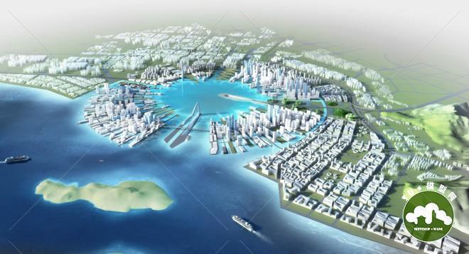 深圳前海城市规划,筑博图片