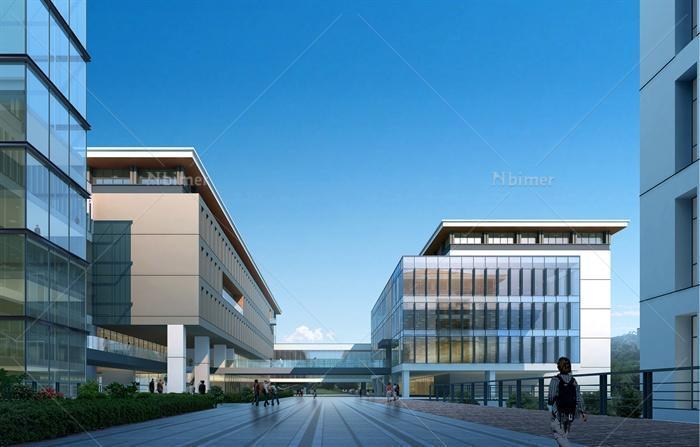 某大学教学楼建筑方案设计(含文本、cad、su模型)总用地面积35000平方米,总建筑面积43533平方米,地上6层,方案通过合理的建筑体形布局组织及内部空间分布设计,使建筑以绝大多数的南北向房间及良好的功能分区构成,创造良好的适用环境。图纸内容包括cad单体平面图,总平面图,方案文本,su模型,图纸内容丰富细致,具有较高的参考价值。