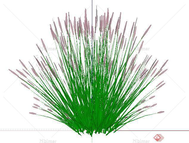 设计素材之景观植物花卉设计方案su模型6