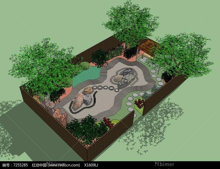公园景观设计,景观设计模型,小区景观设计,阳台花园,公园景观设计平面