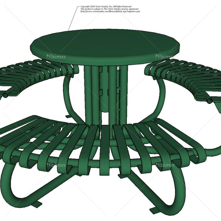 景观平面素材 桌椅