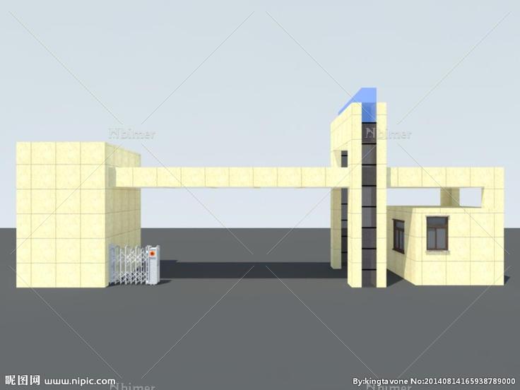 学校大门设计图片