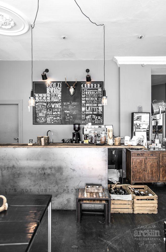 灰白色调的现代工业风装修 - 室内装修 - nbimer灵感