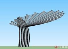 欧式雨棚模型下载_雨棚(78447)su模型下载 - SketchUp模型库 - 毕马汇 Nbimer